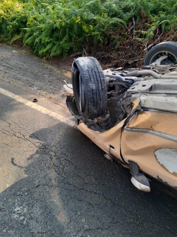 Rize'de Trafik Kazası Kaza: 5 Yaralı