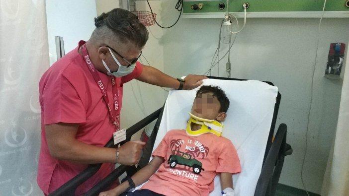 11 Yaşındaki Çocuk Gizlice Anahtarını Aldığı Araçla Kaza Yapıp Yaralandı