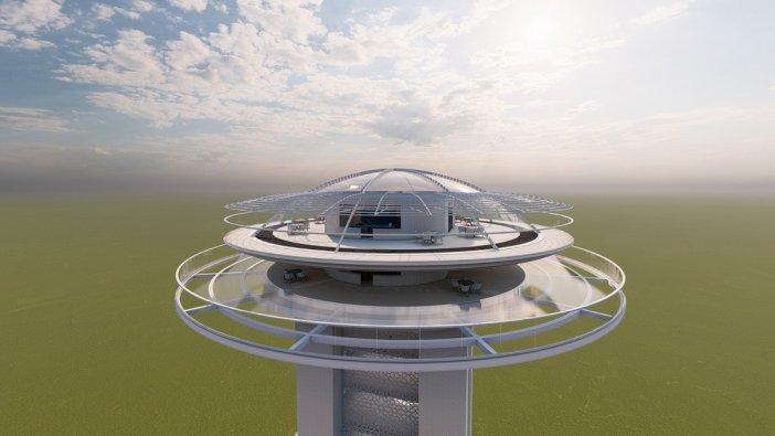 """Başkan Demirtaş: """"ilk Kule Çekim Merkezi Olacak"""""""