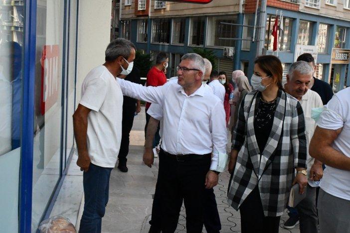 Ak Parti Giresun Milletvekili Aydın Ziyaretlerini Sürdürüyor