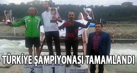 Akarsu Slalom T�rkiye �ampiyonas� Tamamland�