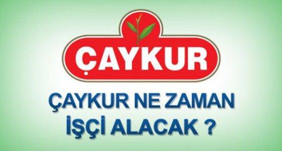 �aykur'a i��i al�m� Ne Zaman?