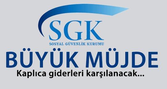 SGK, kapl�ca giderlerini �deyecek