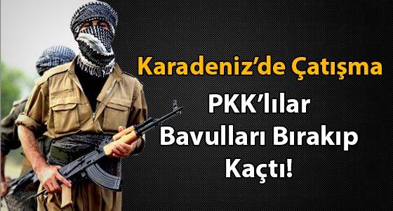 G�m��hane'de PKK'l�larla �at��ma ��kt�