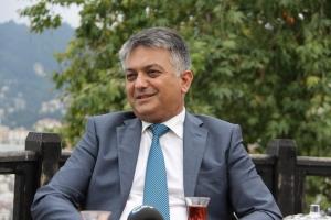 Rize valisi Ersin Yaz�c� de�i�iyor