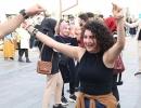Rize'de Festivalde 1 ton hamsi tüketildi