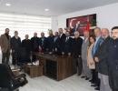 İl Başkanı Alim'den STK ziyaretleri