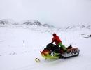 Ovit Dağı'nda kar keyfi