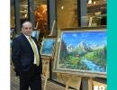 Kalkandere'li sanatçı Müstekim Akdoğan Resim sergisi açıldı