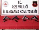 Rize'de Jandarma Kanunsuzluğa Göz Açtırmıyor